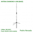 ANTENA DIAMOND X-200 (BASE) - Pedro Nevada