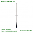 ANTENA MC-200 UHF - Pedro Nevada