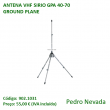 ANTENA VHF SIRIO GPA 40-70 GROUND PLANE - Pedro Nevada