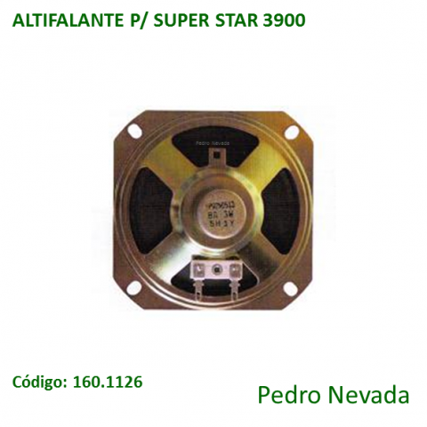 ALTIFALANTE P/ SUPER STAR 3900 - Pedro Nevada