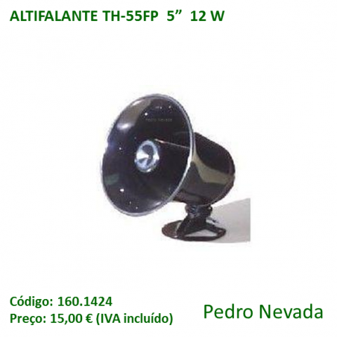 "ALTIFALANTE TH-55FP  5""  12 W - Pedro Nevada"