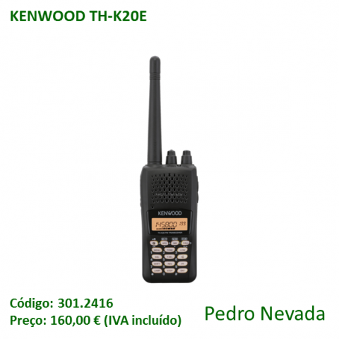 RÁDIO KENWOOD TH-K20E - Pedro Nevada