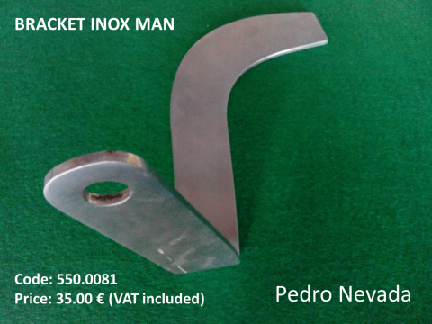 BRACKET INOX MAN (NO. 3) - Pedro Nevada