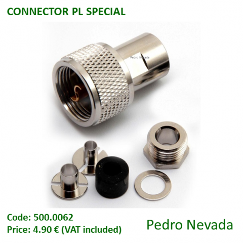 CONNECTOR PL SPECIAL RG-58 - Pedro Nevada